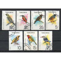 Фауна Птицы Танзания 1992 год серия из 7 марок
