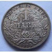 Германия 1 марка 1915 отметка монетного двора A - Берлин