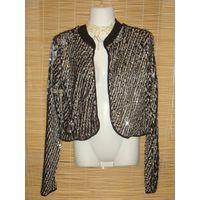 РАСПРОДАЖА! Эксклюзивное болеро-пиджак KIKIRIKI! Высокое качество!