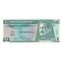 Гватемала 1 кетцель 1992 года. Состояние UNC! Нечастая!