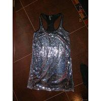 Платье Bershka с пайетками