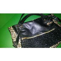 Шикарная леопардовая сумка