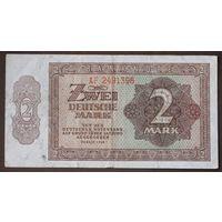 Германия, 2 марки 1948 год.