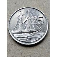 Каймановы острова 25 центов 1999