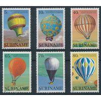 1983 Суринам 1052-1057 Воздушный шар / Стратосфера 7,00евро