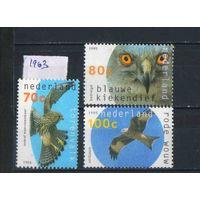 Нидерланды 1995 Хищные птицы #1549-51**
