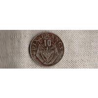 Руанда 10  франков 1974/флора/(Li)
