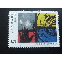 Дания 1993 Европа живопись