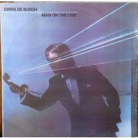 Chris de Burgh - Man on the line, 1984, LP