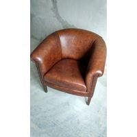 Английское Уинчестерское кожаное кресло