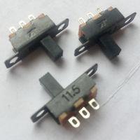 Переключатель ((цена за 10 шт)) движковый. SS02-12F15