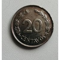 20 Сентаво 1966 (Эквадор)