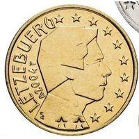 50 евроцентов 2004 Люксембург UNC из ролла