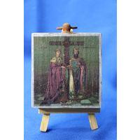 Икона Св. Царица Елена, Св. Царь Константин.