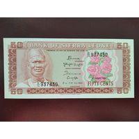 Сьерра-Леоне 50 центов 1984 UNC