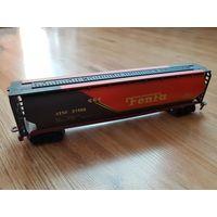 Реалистичная модель вагон-цистерна из железной дороги Fenfa / длина 24 см