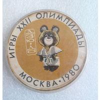 Борьба Дзюдо. Олимпийский Мишка. Игры 22-й Олимпиады. Москва 1980 год #0517-SP12