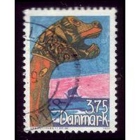 1 марка 1993 год Дания Флот 1061