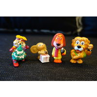 Киндеры, игрушки из киндер-сюрпризов лот-5