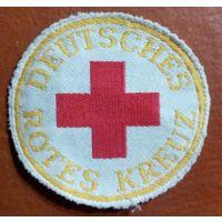 Немецкий красный крест . Нарукавная нашивка. Германия.