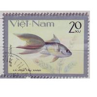 Марки - рыбы, фауна, Вьетнам - золотые рыбки 1983