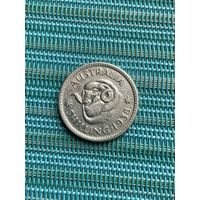Австралия 1 шиллинг 1938 г.