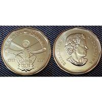 Канада 1 доллар 2017 г UNC