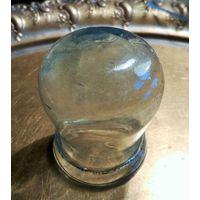 Банка медицин. Неман до 1939 или цирская Россия, ручная выдувка стекла, без дефектов, Поштучно, цена за 1шт.