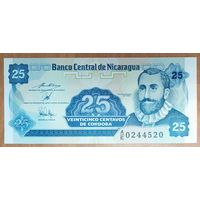25 сентаво 1991 года - Никарагуа - UNC