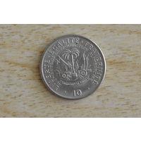 Гаити 10 сантимов 1975