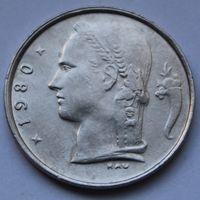 Бельгия, 1 франк 1980 г. 'BELGIE'