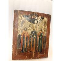 Икона Избранные Святые. 19 Век