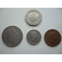 Великобритания ( набор монет)