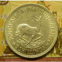 ЮАР  5 шиллингов 1949 г