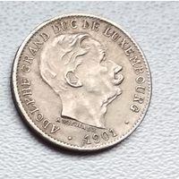 Люксембург 5 сантимов, 1901 6-3-6