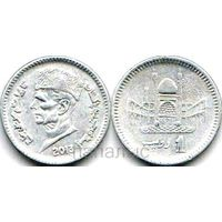 Пакистан 1 rupee 2013