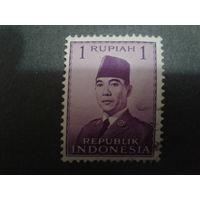 Индонезия 1951 президент Сукато