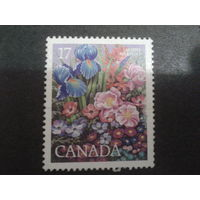 Канада 1980 выставка цветов, полная