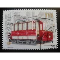 Словения 2001 трамвай