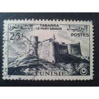 Тунис 1954 колония Франции крепость