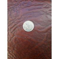 НОВАЯ ЗЕЛАНДИЯ 5 центов 1995 год/ игуана/с рубля