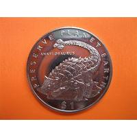 Эритрея 1 доллар 1993 год.