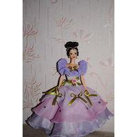"""Продам новое ПЛАТЬЕ для куклы Барби: """"ПРИНЦЕССА"""" - машинный самошив, сидит весьма аккуратно. Сама кукла, как и её головной убор в стоимость не входят. Пересыл по почте платный!"""