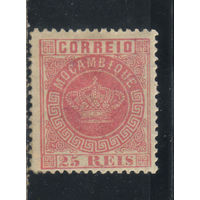Португалия Колонии Мозамбик 1876 Корона Стандарт #4А*