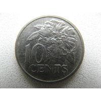 Тринидад и Тобаго 10 центов 1978 г.