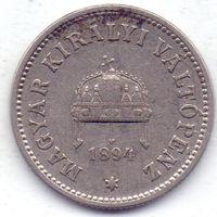 Австро-Венгрия, 10 филлеров 1894 года.