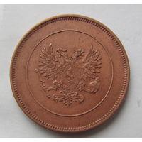 10 пени 1917 Русско-Финские имперский орёл без корон.