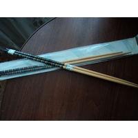 Палочки для еды,китайские,деревянные,расписные 33см
