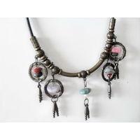 Ожерелье с натуральными камнями ( Индия ) СССР.