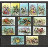 Барбуда 1987 Рыбки